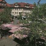 Marktplatz in der Nähe des Hotels