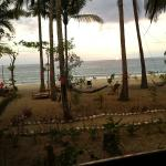 Seaview from restaurant