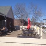Pour House - outside dining patio