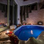 "Bathtub in the ""EL GUARUMO"" Junior Suite"