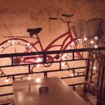 The bicycles in the bar
