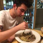 L'ottimo spaghetti allo scoglio