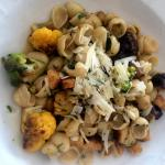 House-made orecchiette with spring vegetables