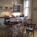 The kitchen -- the heart of this B&B