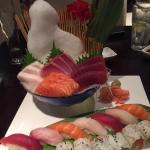 Sushi and Sashimi Combo Platter