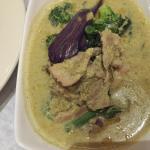 Green Curry Taste mild, I really like it