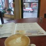 Luscious latte!