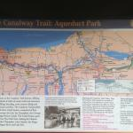 Aqueduct Park trail map
