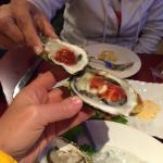 Pacific Oysters! Very nice! Good service as well. Every Table has a nice view of the Bay.