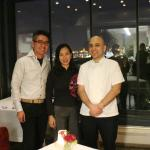 With chef Kaan Sakarya