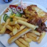 Tasty home made lasagne