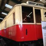 Tyneside electric baggage car