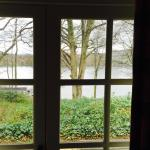 Lake side view from window