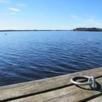 peaceful summer day by the lake Onkivesi, Jokiniemen matkailu