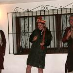Aruna's Bollywood Night - the boy dancing to Bollywood music