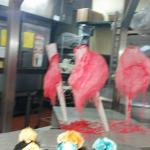 Cotton Candy on Buffet