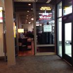 Skylounge inside Santa Rosa Airport terminal.