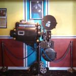 Old movie projector.