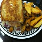 The Ruben, it was pretty massive and piled high!
