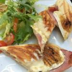 brie and bacon Panini