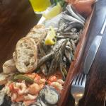 The sharing fish platter