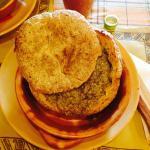 Zuppa di funghi in crosta