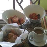 Yummy traditional breakfast
