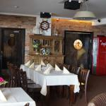 """The restaurant  """"Jachtklubas"""" (Yacht club) main hall"""