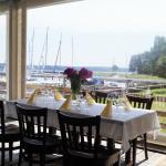 "Restaurant ""Jachtklubas"" (Yacht club) terrace on the water"