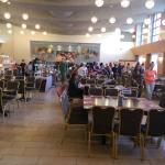 dining hall- good food