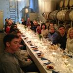 Cellar Sampler- wine and food pairings in our Production Facility