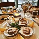 Danish oysters from Limfjords, delicious!