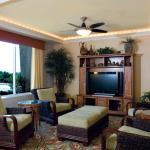 Hotel Lobby with HDTV