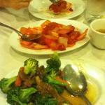 Beef & Broccoli  Sweet & Sour Chicken