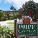 Poipu Plantation entrance
