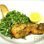 Kale and Maple Glazed Salmon Salad