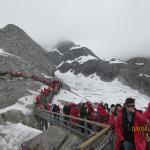 The climb up the 4506 peak