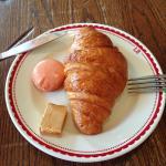 O melhor croissant que já comi!