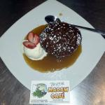 Sticky Date Pudding and Butterscotch Sauce  from The Real Macaw Cafe