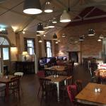 Cafe after renovation