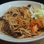 Yakisoba tastes good!