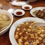 麻婆飯とラーメン