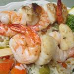 Shrimp & Scallop Skewers