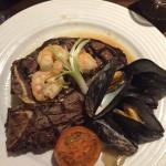 T-bone surf n turf
