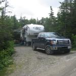 Private L shaped sites for tents and RV!