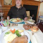 Roast Dinner at The Black Lion