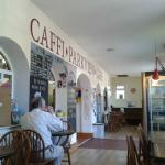 Spacious cafe with plenty of seating