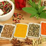 Natural herbs used in Authentic Indian Cuisines