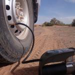 regonflage apres les dunes pression 1kg dans les pneus