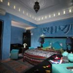 Nouvelle chambre bleue Riad Eloise %arrakech